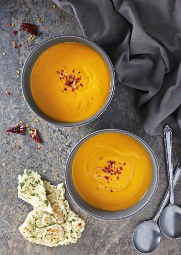 Ginger and Sweet Potato Soup