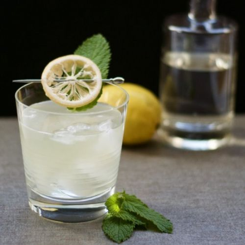 Sauvignon Gin Cocktail