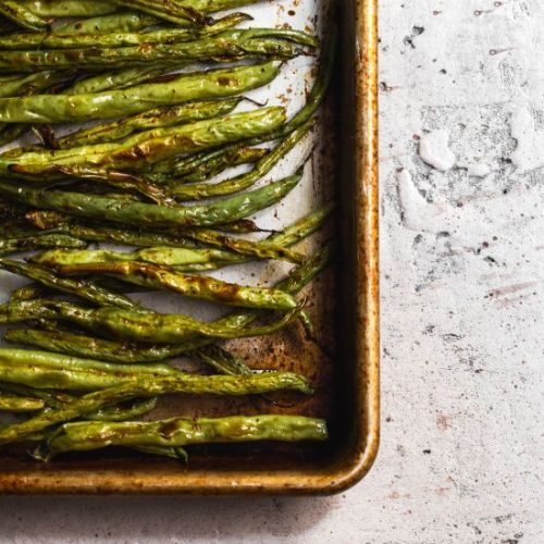 Easy Weeknight Roasted Greens Beans