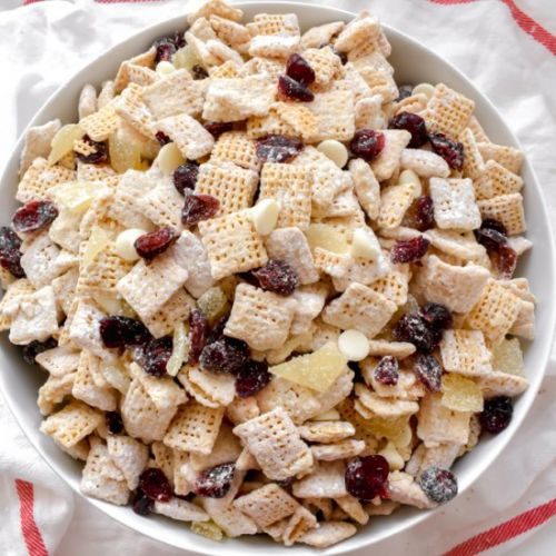 Cranberry Bliss Puppy Chow
