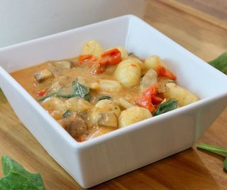 Coconut Thai Curry Gnocchi