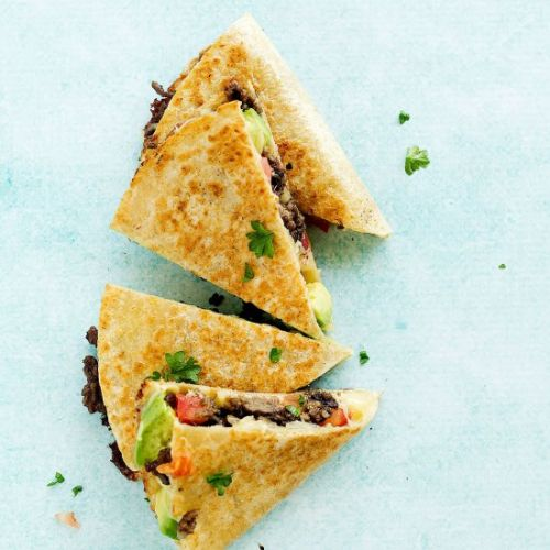 Leftover Tacos Quesadillas