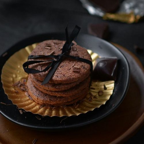 Belgian Chocolate Shortbread