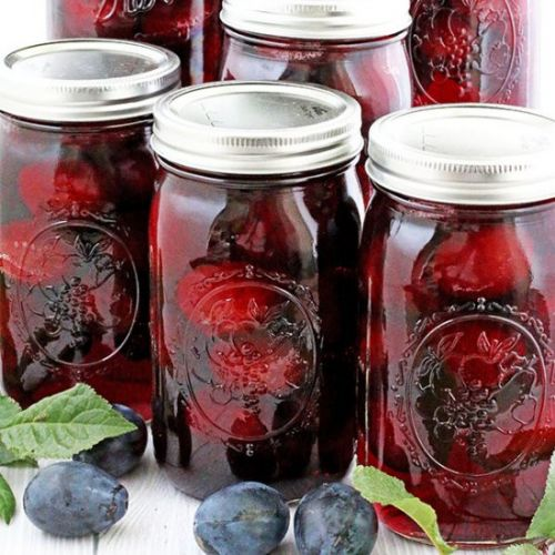 Canned Plum Juice