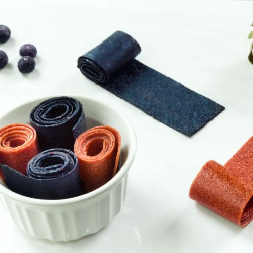 Raw Fruit Roll Ups