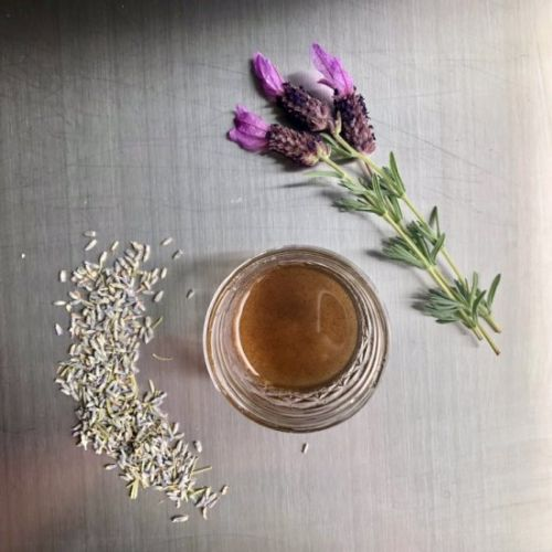 Lavender Cardamom Simple Syrup