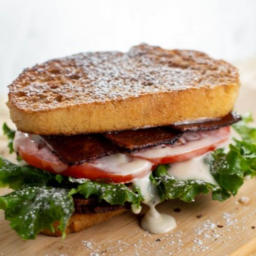 French Toast BLT with Maple Aioli