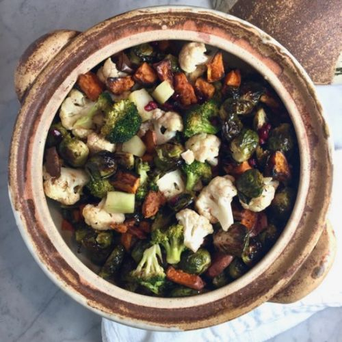 Roasted Vegetables with Pomegranate
