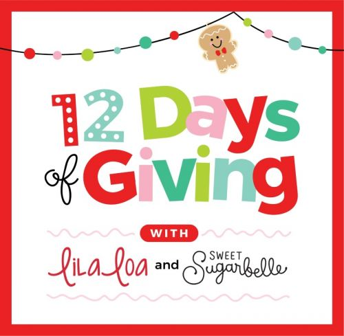 The Fifth Annual 12 Days of Giving with LilaLoa and Sweet Sugarbelle - Day 6