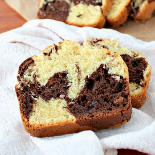 Gluten Free Marble Loaf Cake