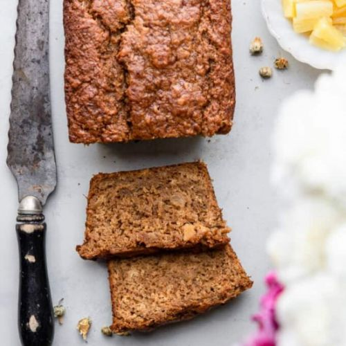 Banana Pineapple Bread