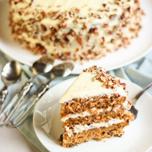 Award winning carrot cake