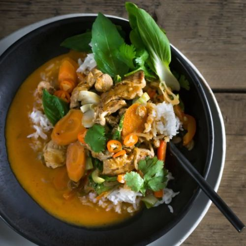 Pheasant Thai Curry