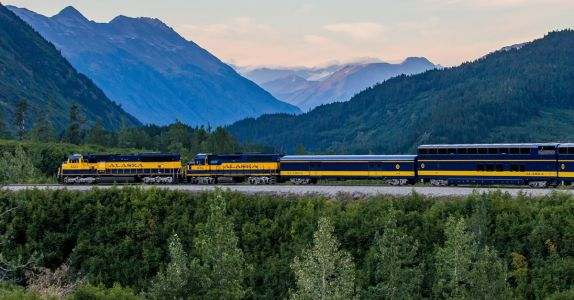 Take A Craft Brewery-Fueled Train Ride Through The Alaskan Wilderness