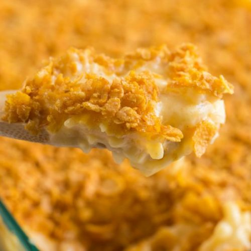 Classic Cheesy Funeral Potatoes