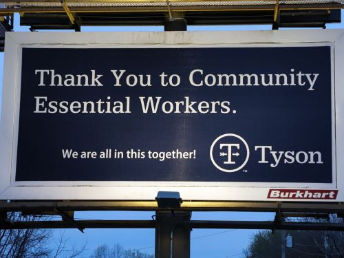 Tyson Managers Allegedly Bet on How Many Meat Plant Workers Would Get COVID-19