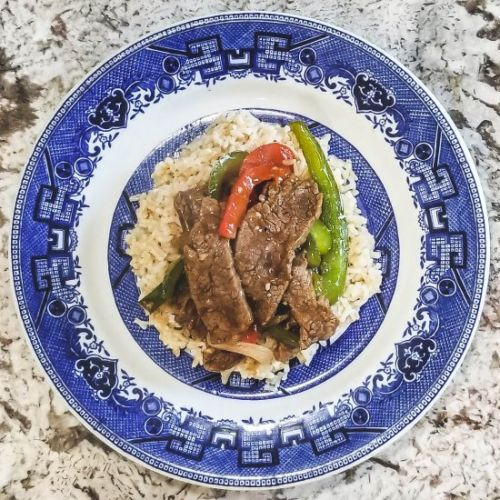 Savory Pepper Steak Stir Fry