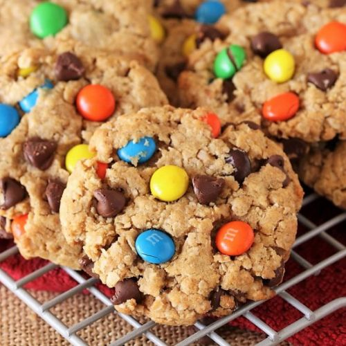 The BEST Monster Cookies