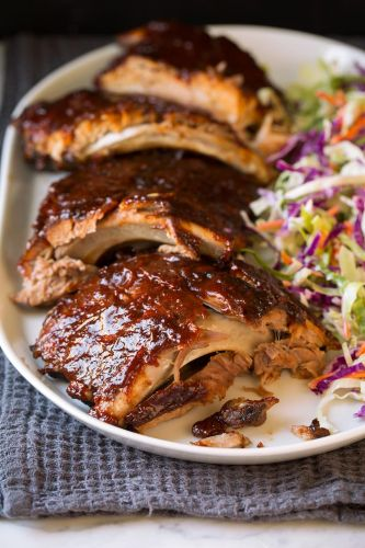 Slow Cooker Ribs {The Most Tender Ribs!}