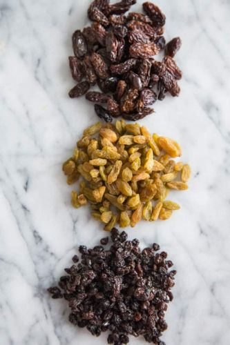 What's the Difference Between Raisins, Sultanas, and Currants?