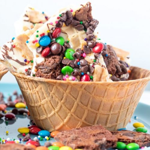 Ice Cream Sundae Bark