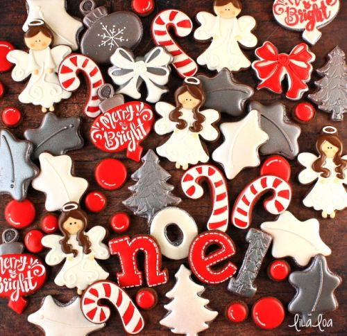 How to Make Decorated Angel Cookies for Christmas