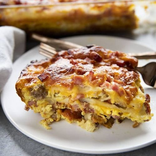 Stacked Breakfast Casserole