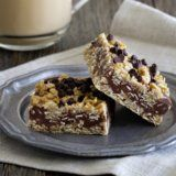 There's No Heat Required For These Chocolate Peanut Butter Oatmeal Bars