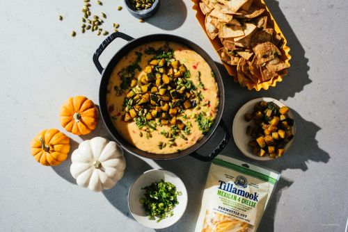 You Need to Bring this Pumpkin Queso to Your Next Fall Get Together