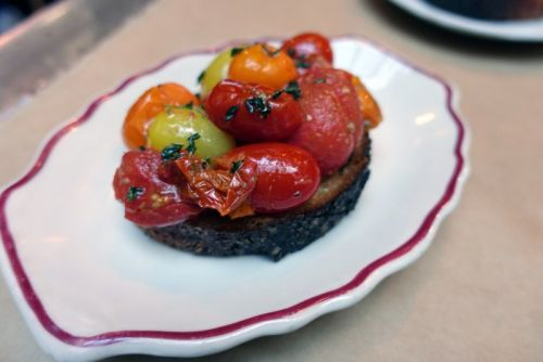 Story On A Plate: Beef Love Crostini At NYC's Houseman