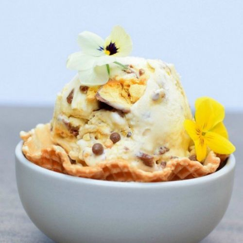 Crunchie Ice Cream