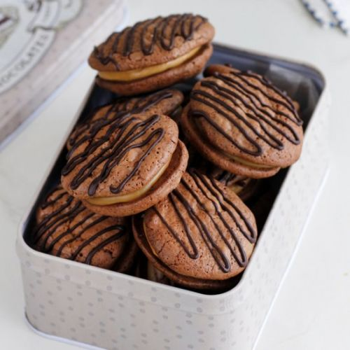 Chocolate and Coffee Cookies