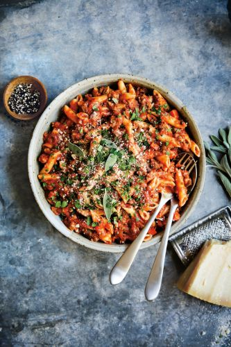 Instant Pot Pasta with Bolognese