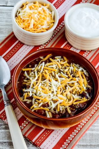 Pumpkin Chili with Ground Beef