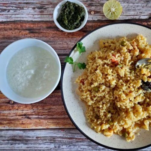Veg Brown Rice for weight-Loss
