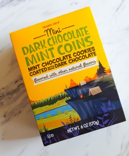 Sweet on Trader Joe's Sunday: Mini Dark Chocolate Mint Coins