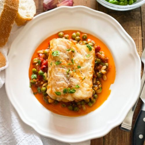 Spanish Cod with Vegetables