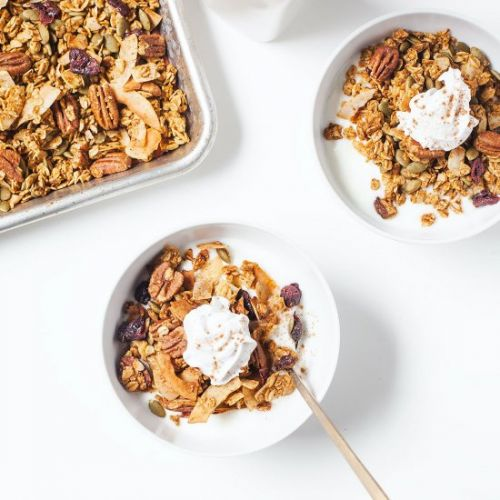 Low-Sugar Pumpkin Granola