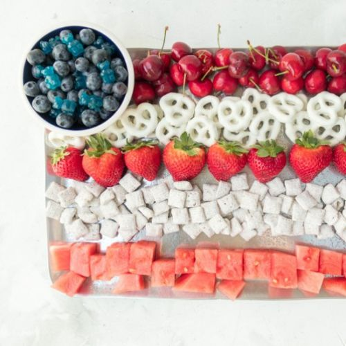 Flag Fruit & Dessert Platter