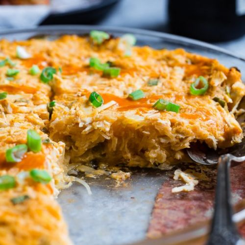 Paleo Buffalo Chicken Casserole