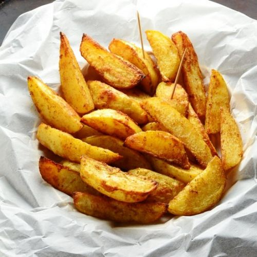 Easy Spiced Potato Wedges Recipe
