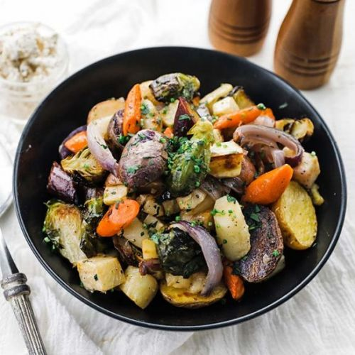 Oven Roasted Root Vegetables Recipe
