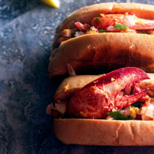 Warm Butter Lobster Rolls