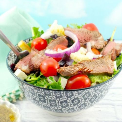 Healthy Grilled Steak Salad