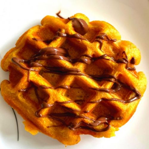 Whole Wheat Pumpkin Waffle