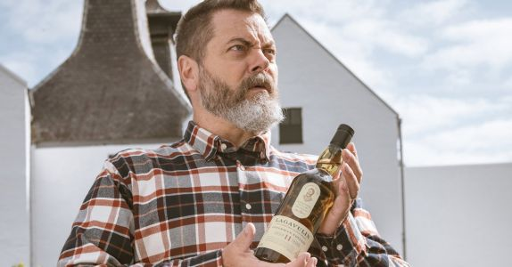 Nick Offerman Finally Gets His Own Scotch from Lagavulin