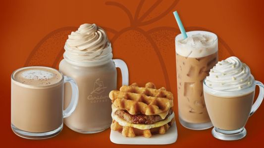 Now THIS is News You'll Love: PUMPKIN IS BACK at Caribou Coffee!