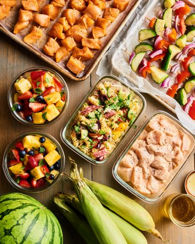Meal Prep Plan: How I Prep a Week of Grill-Friendly Meals for Vacation