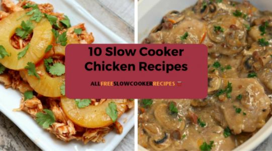 10 Slow Cooker Chicken Recipes: Change Up Your Menu for Fall