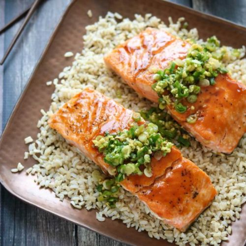 Red Miso Salmon